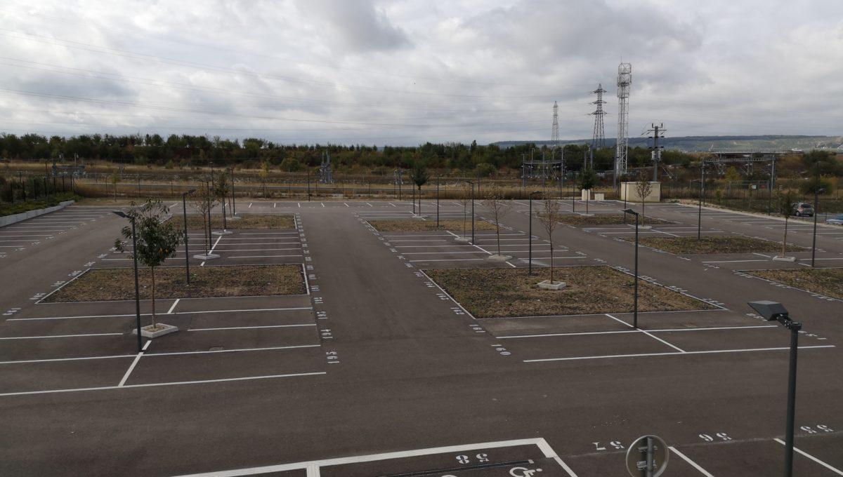 Parking vue R+1 Terrasse